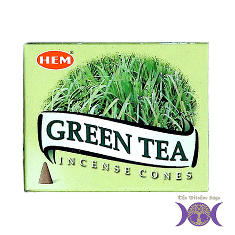 HEM Green Tea Incense Cones
