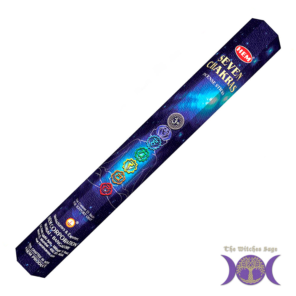 HEM Seven Chakras Incense Sticks