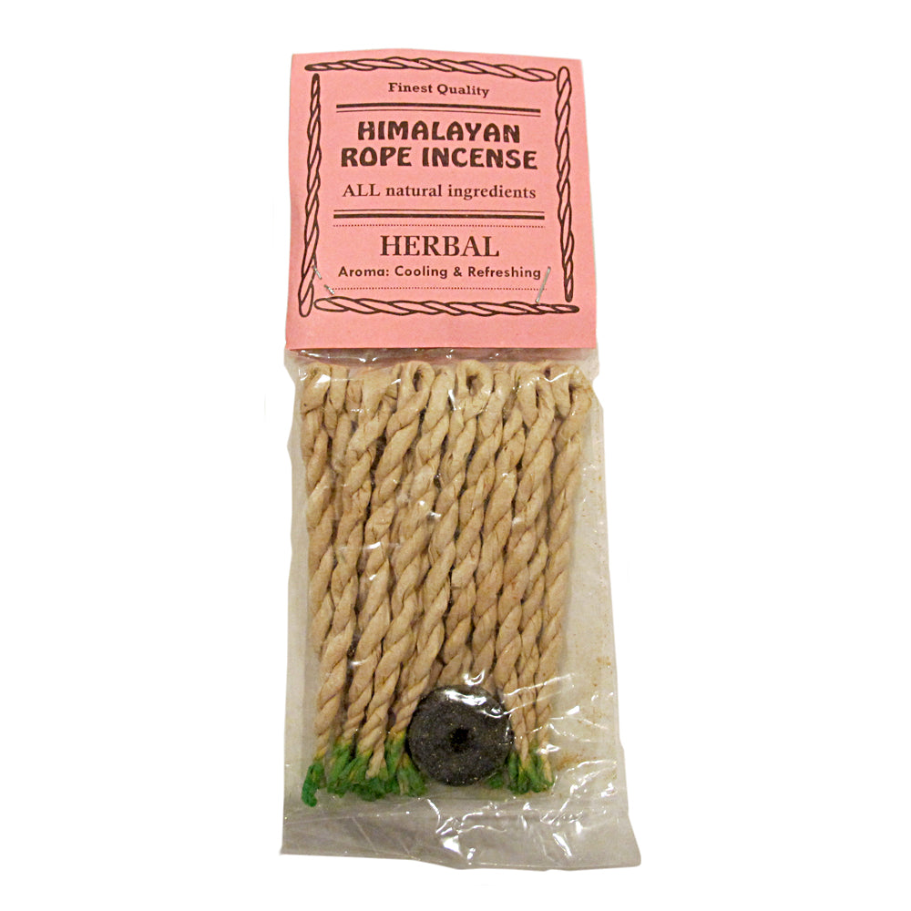 Himalayan Herbal Tibetan Rope Incense