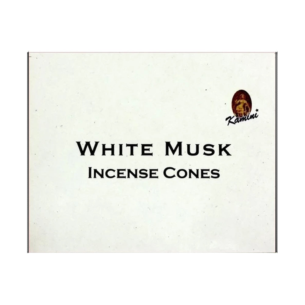 Kamini White Musk Incense Cones