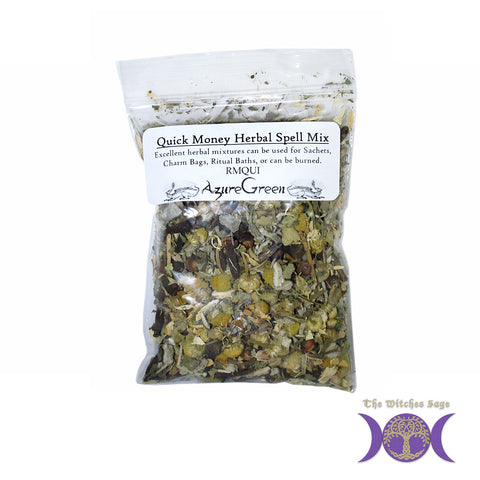 Quick Money Herbal Spell Mix