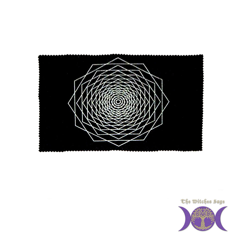 Sacred Geometry Mat: Dodeca Fractal