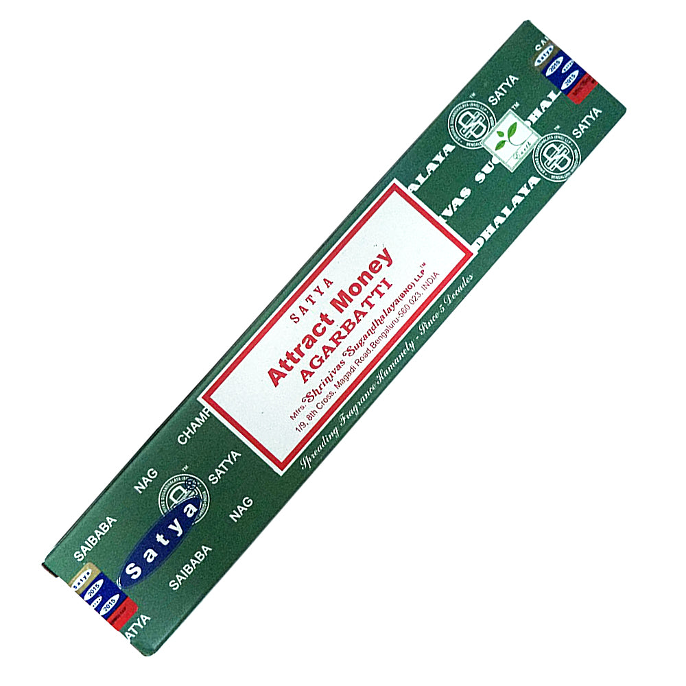 Satya Attract Money Incense Sticks 15 gm