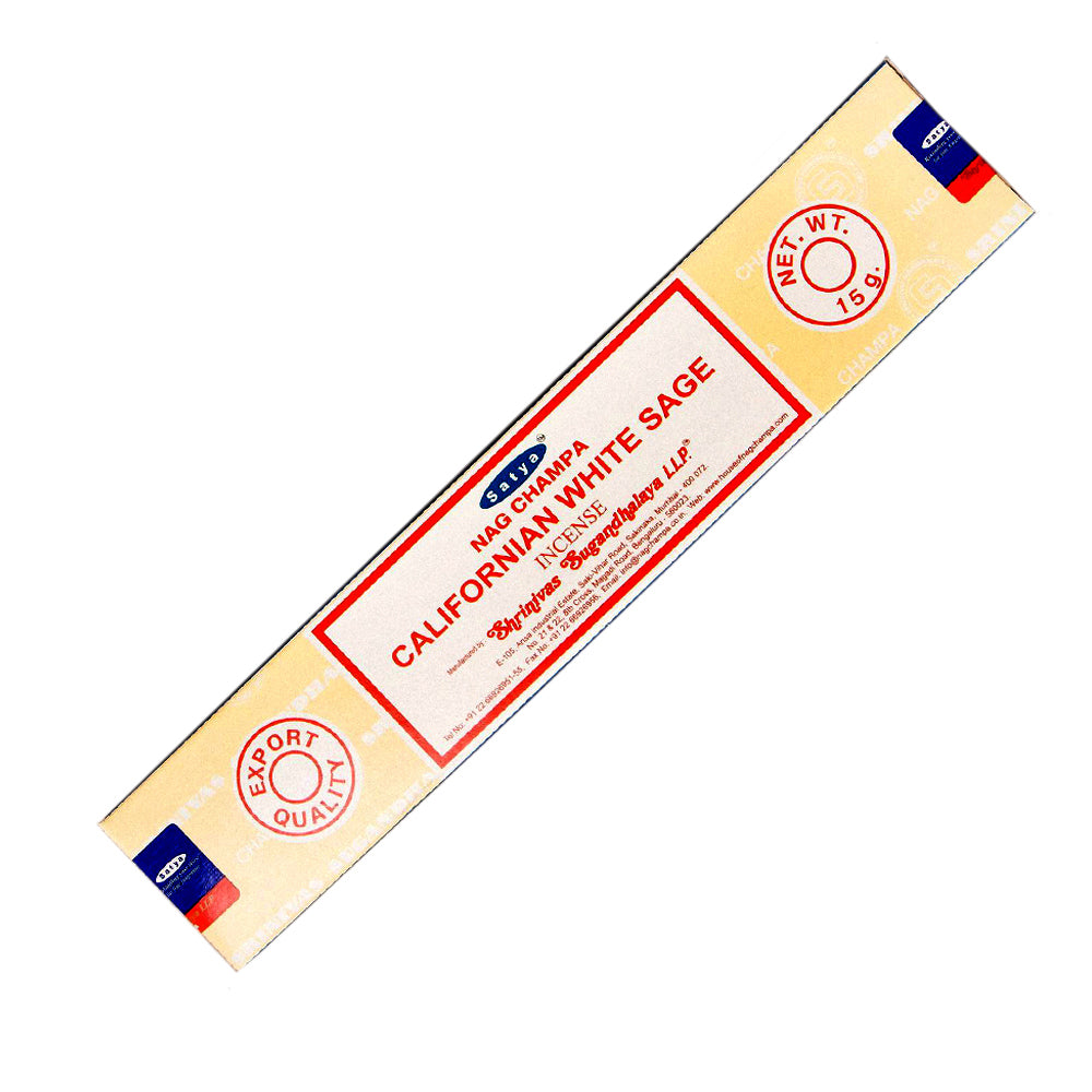 Satya Nag Champa California White Sage Incense stick 15 gr