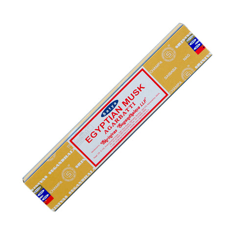 Satya Egyptian Musk Agarbatti Incense 15 gr