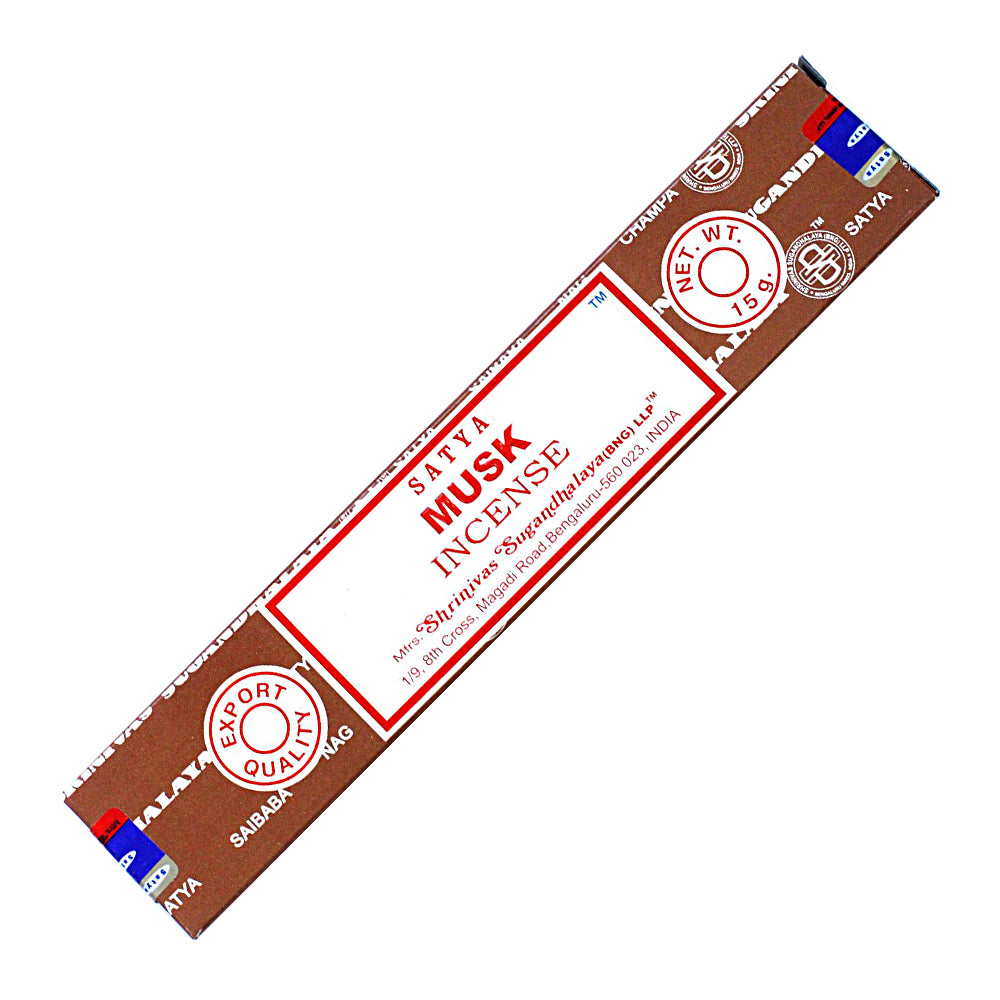 Satya Musk incense stick 15 gm