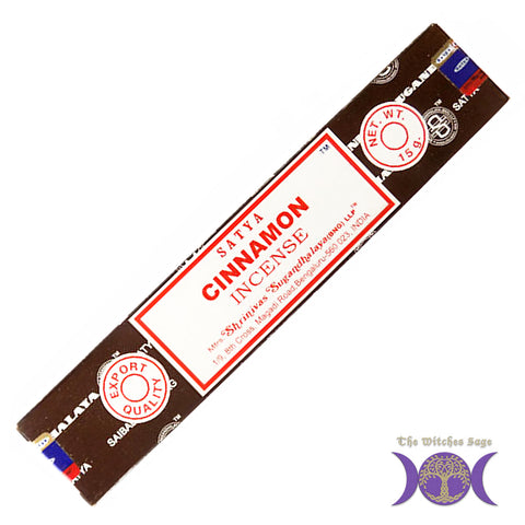 Satya Cinnamon Incense sticks 15 gr