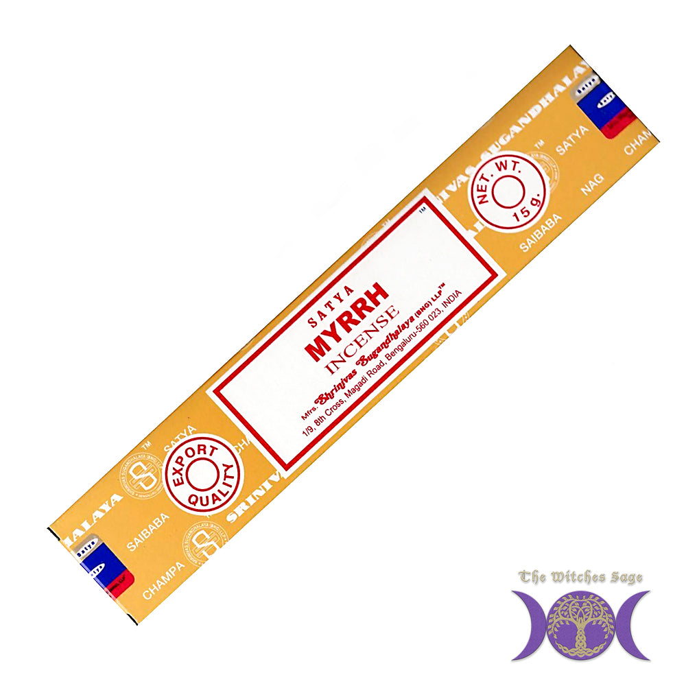 Satya Myrrh Incense Sticks 15 gr