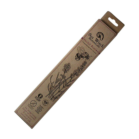 Sea Witch Botanicals - Herbal Renewal Incense Sticks