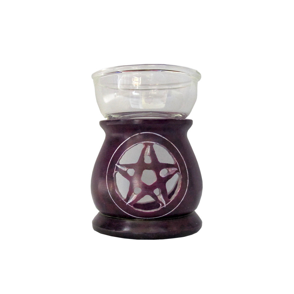Pentagram Oil Burner
