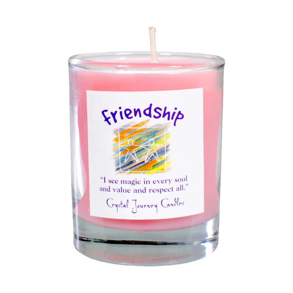 Soy Herbal Filled Votive - Friendship