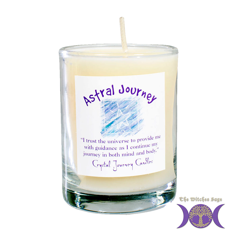 Soy Herbal Filled Votive - Astral Journey