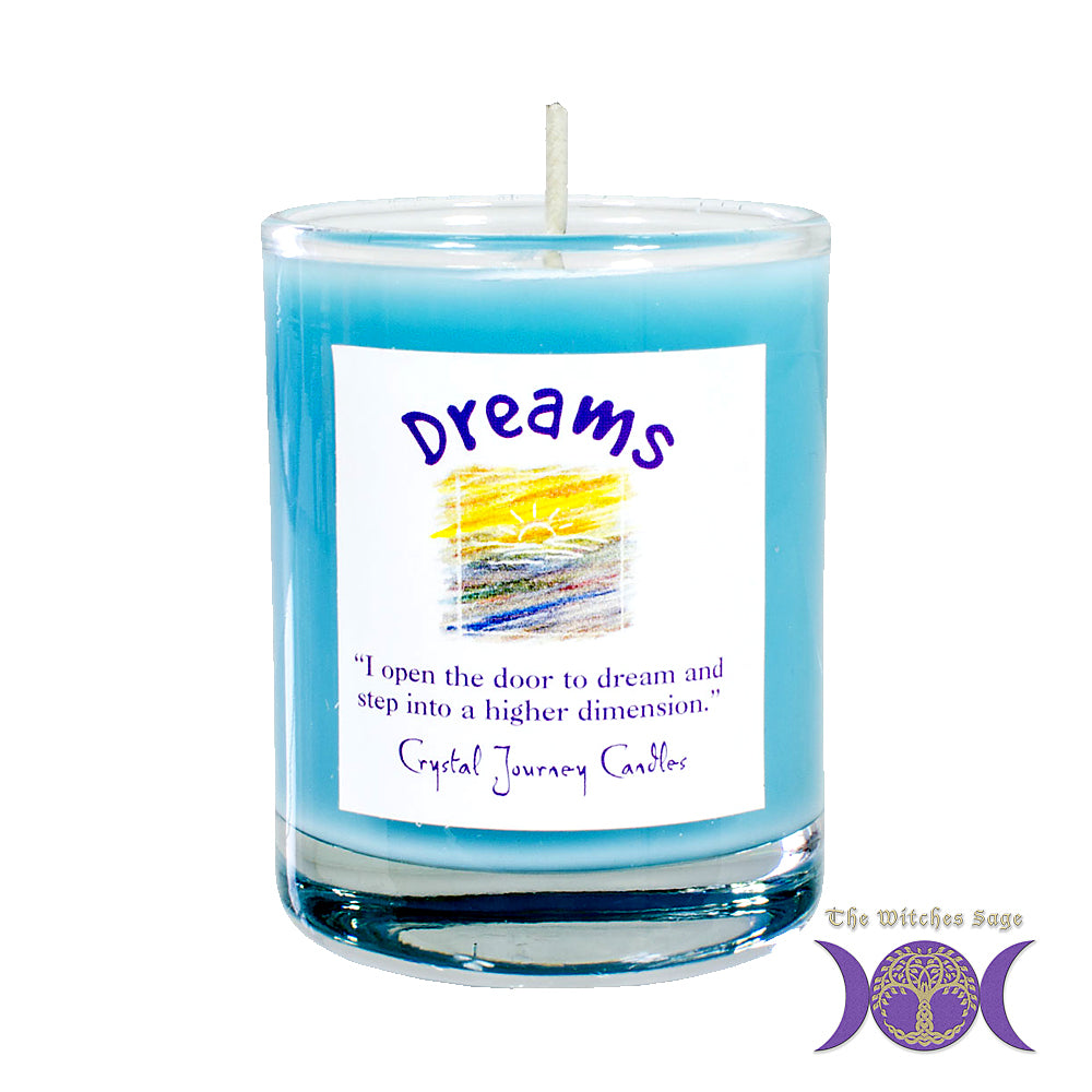 Soy Herbal Filled Votive - Dreams