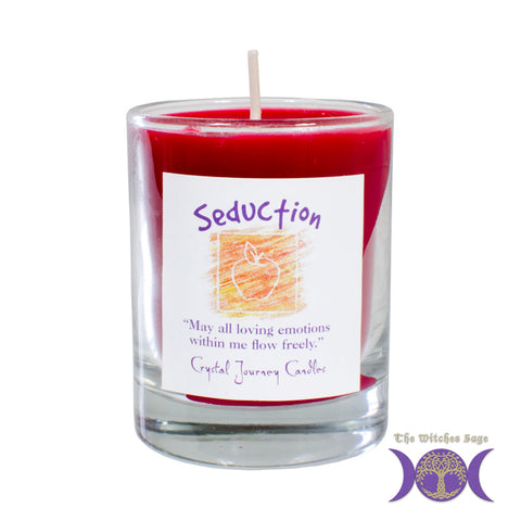 Soy Herbal Filled Votive Candle - Seduction