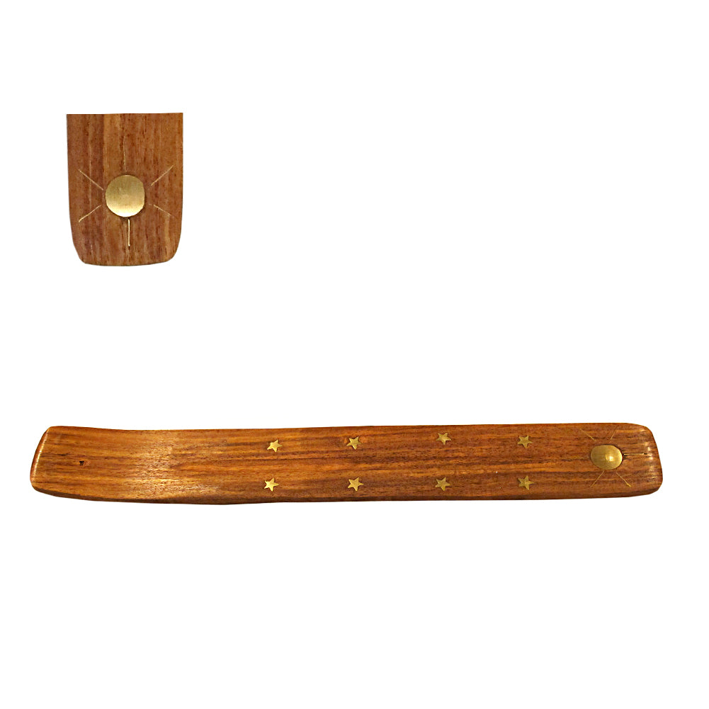 Sun Wood Incense Boat Burner