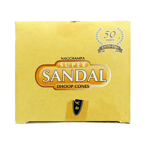 Satya Super Sandal Dhoop Incense Cones