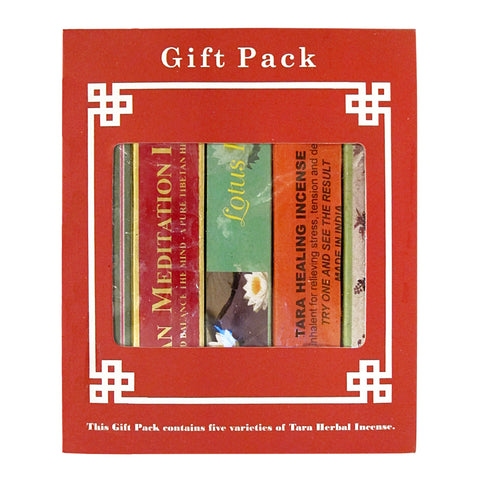 Tibetan Tara Herbal Incense Gift Set