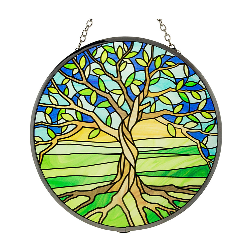 Tree of Life Glass Suncatcher