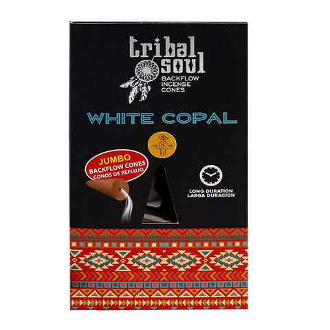 Tribal Soul White Copal Backflow Cones