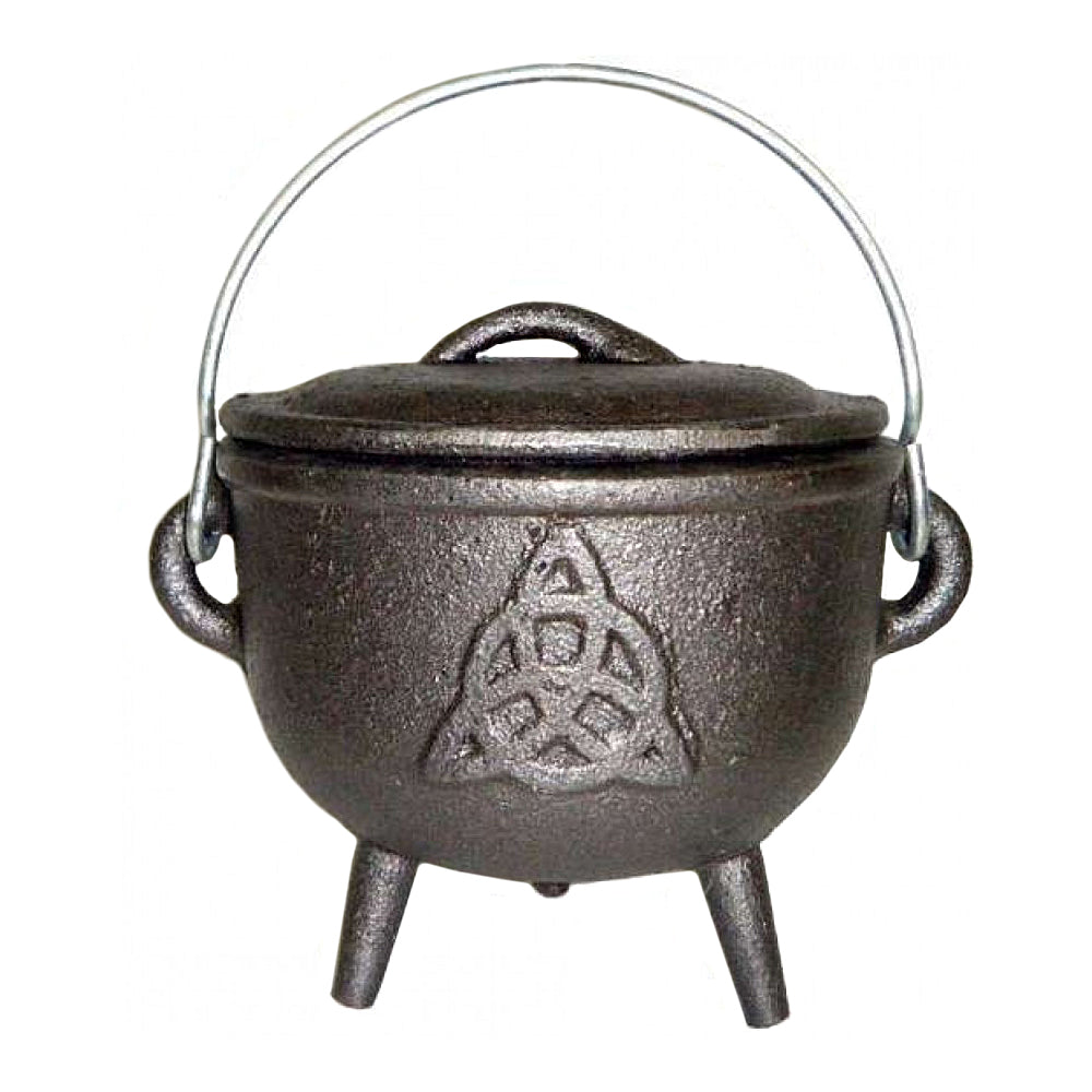 Cast Iron Cauldron - Triquetra 4.5""