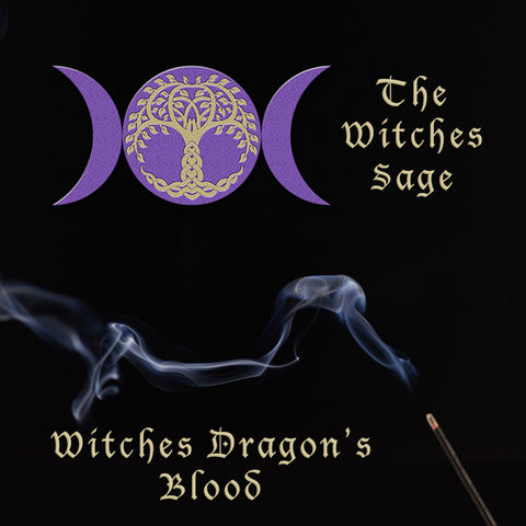 Witches Dragons Blood Incense Sticks