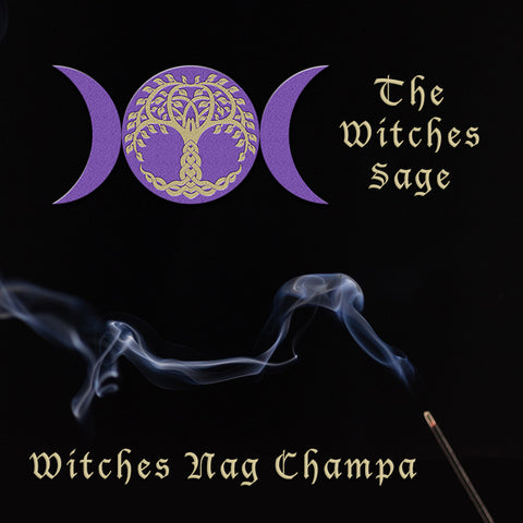 Witches Nag Champa Incense Sticks