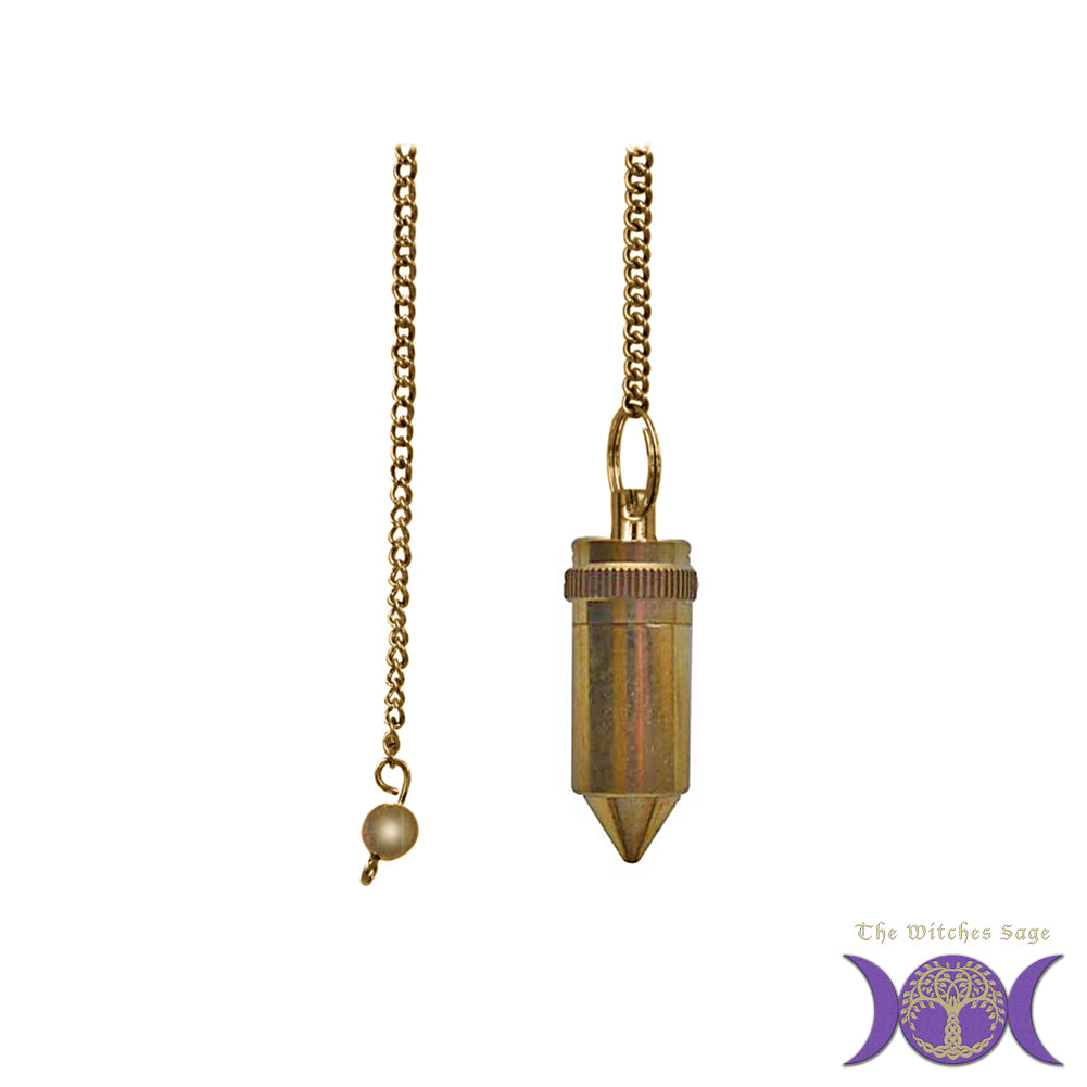 Brass Pendulum with Compartment
