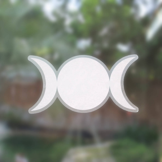 Triple Goddess Decal