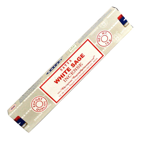 Satya White Sage incense sticks 15 gm