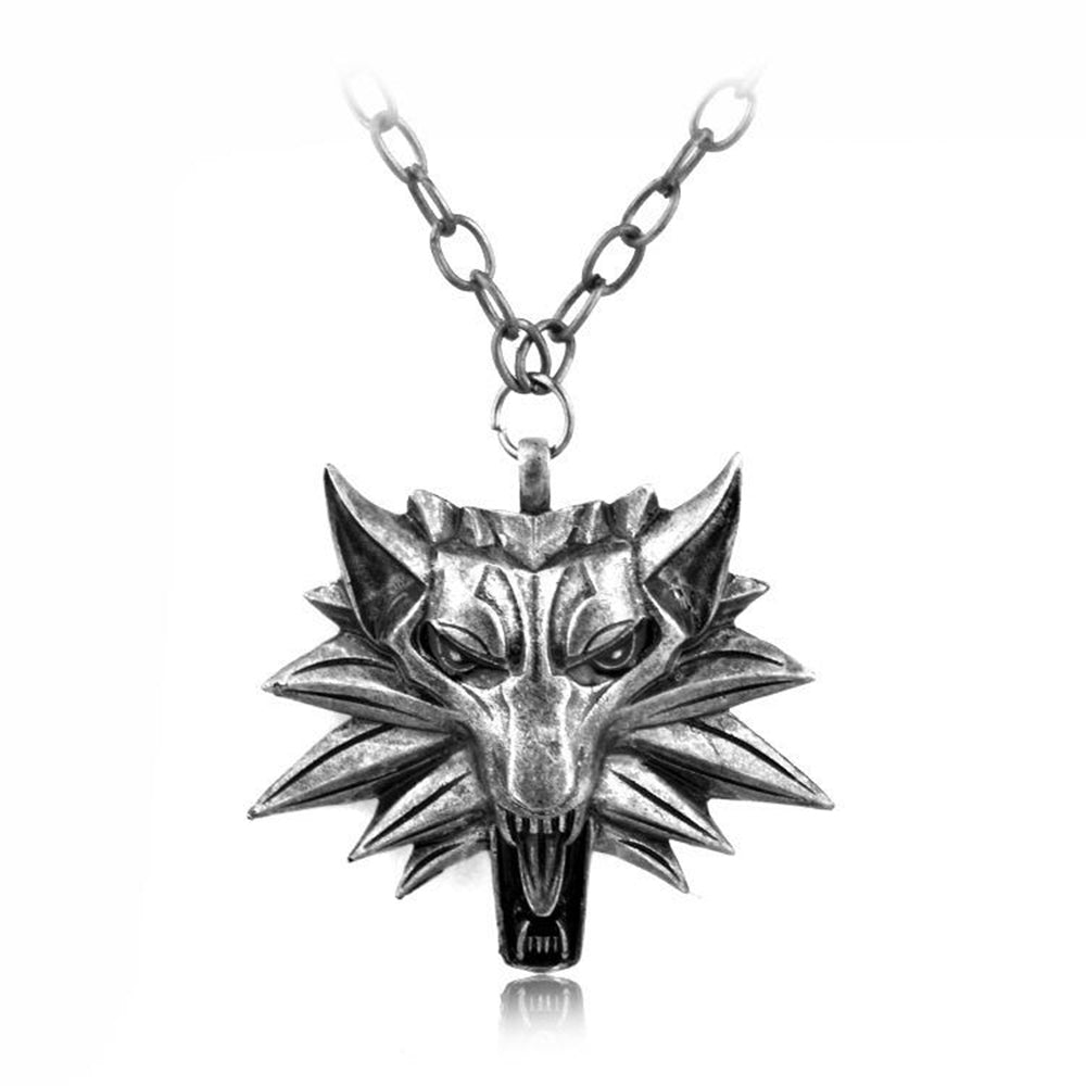 Witcher Wolf's Head Pendant