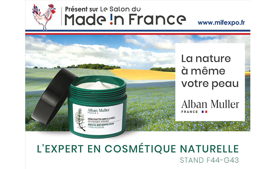MIF Expo salon des produits Made in France alban muller