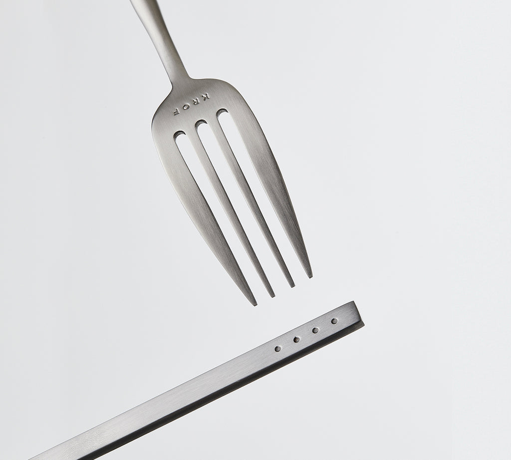 Brushed Silver — 24pc Cutlery Set