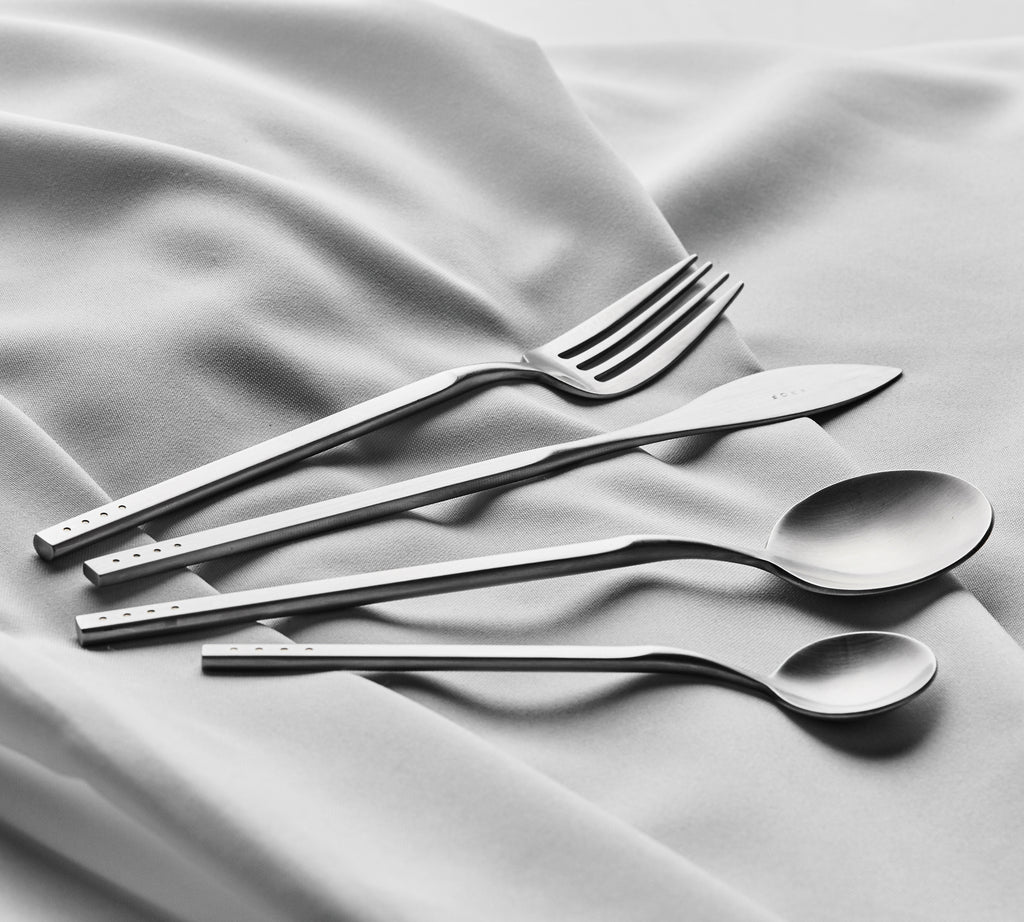 Brushed Silver — 8pc Cutlery Set