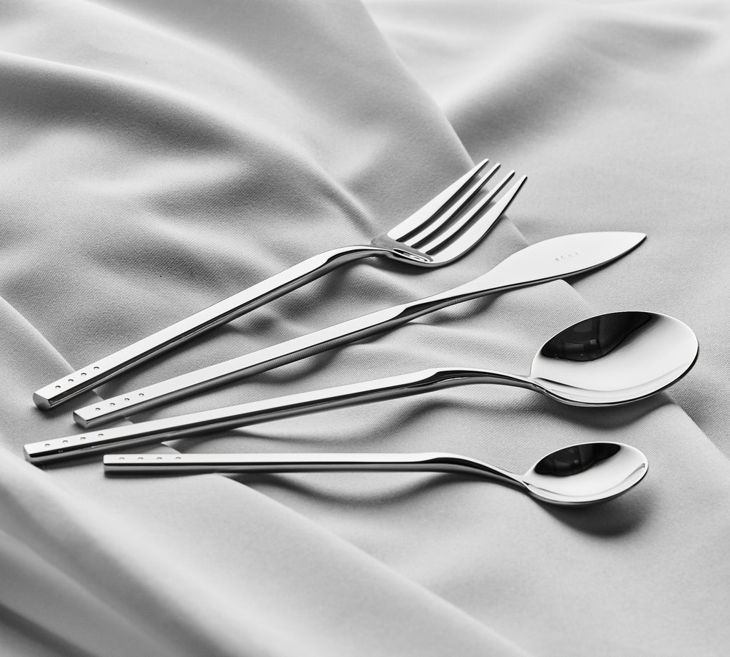 Polished Silver — 24pc Cutlery Set