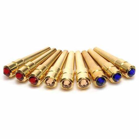 BRASS PEGS - Polished Solid Brass