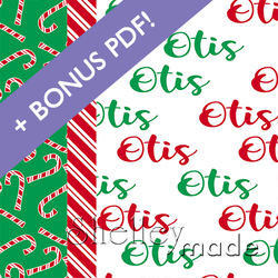 Christmas Pillowcase Panels