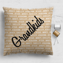 Family Cushion Panel - Grandkids
