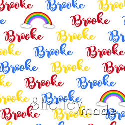 Brush Image - Rainbow