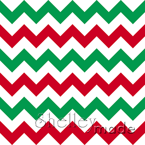 Christmas Coordinate - Chevron
