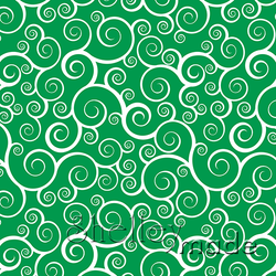 Christmas Coordinate - Swirl Green