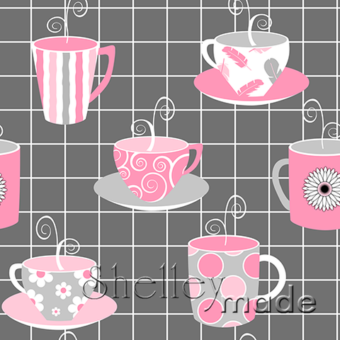 Coordinate - Tea Cup Coffee Mug