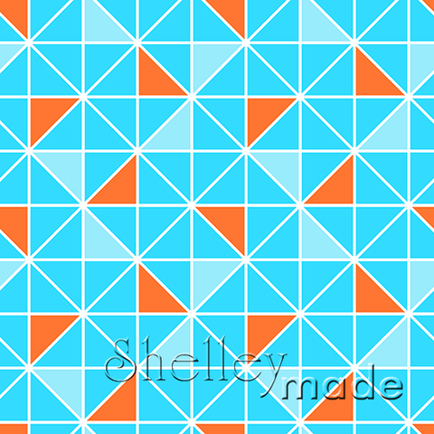 Coordinate - Triangle Half Square