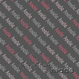 ShelleyMade Personalised Name Design Fabric Diagonal - Block