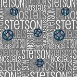 ShelleyMade Personalised Name Design Fabric Nested Image - Gears