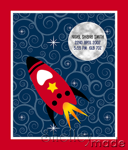 Special Edition Panel - Space Rocket