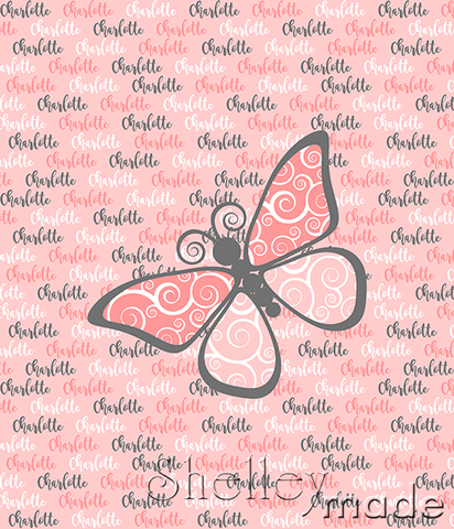 Brush Panel - Butterfly
