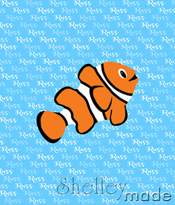 Brush Panel - Clownfish
