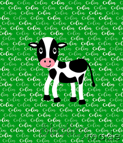 Brush Panel - Cow