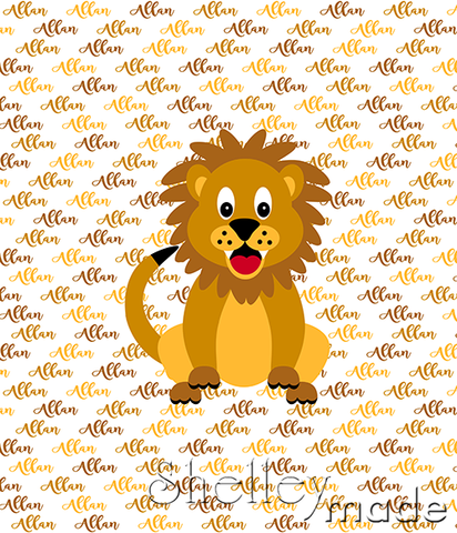 Brush Panel - Lion
