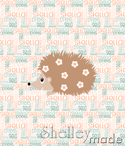 Nested Panel - Hedgehog Girl